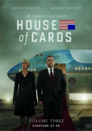 House Of Cards: The Complete Third Season Movie