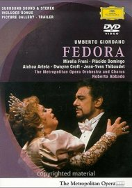 Fedora: Freni, Domingo, Abbado, Metropolitan Opera Movie