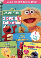Sesame Street:  Sing Along With Sesame Street (3 Pack) Movie