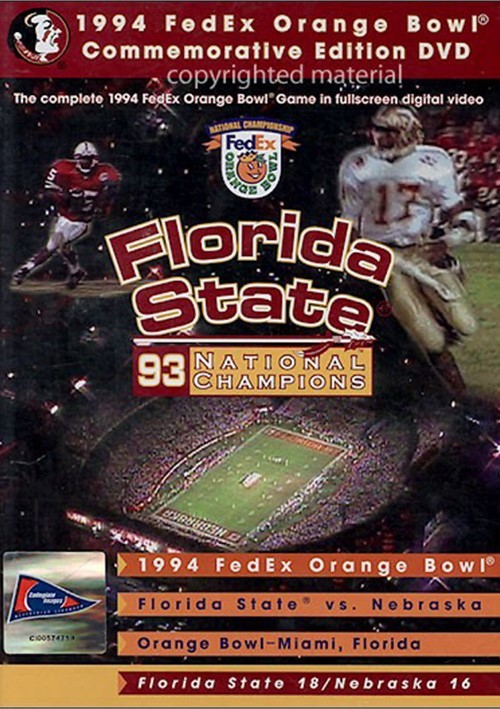 1994 FexEx Orange Bowl National Championship Movie