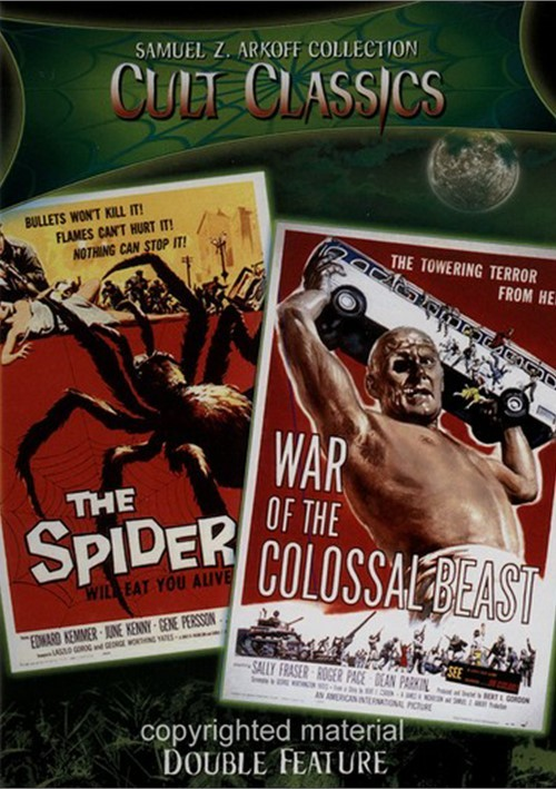 Earth Vs. The Spider / War Of The Colossal Beast (Double Feature) Movie