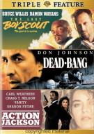 Last Boy Scout, The / Dead-Bang / Action Jackson (Triple Feature) Movie