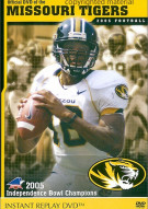 Official DVD Of The Missouri Tigers 2005 Football Movie