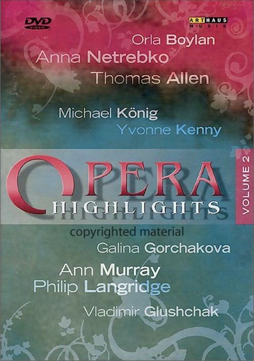 Opera Highlights: Volume 2 Movie
