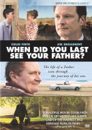 When Did You Last See Your Father? Movie