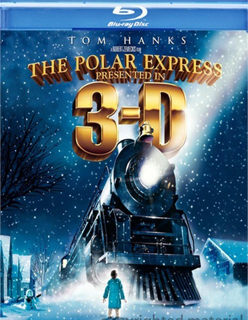 Polar Express, The: Presented In 3-D Blu-ray