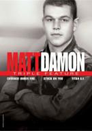 Matt Damon: Triple Feature Movie