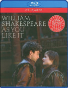 Shakespeare: As You Like It Blu-ray