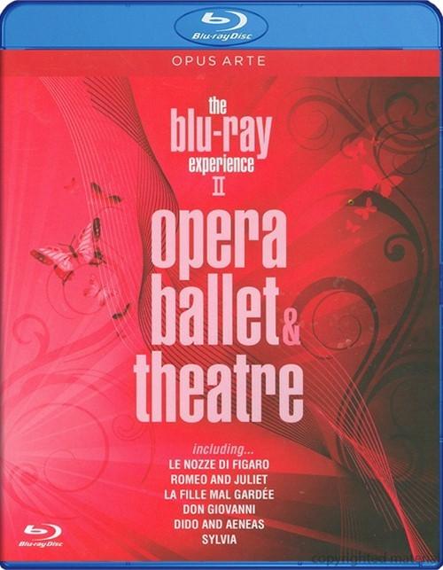 Opera, Ballet & Theatre Blu-ray