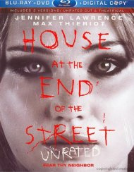 House At The End Of The Street: Unrated (Blu-ray + DVD + Digital Copy) Blu-ray