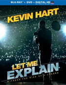 Kevin Hart: Let Me Explain (Blu-ray + DVD + UltraViolet) Blu-ray