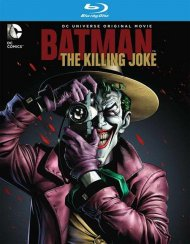 Batman: The Killing Joke (Blu-ray + DVD + UltraViolet) Blu-ray