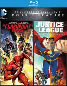 Justice League: The Flashpoint Paradox/DCU & Crisis On Two Earths Blu-ray
