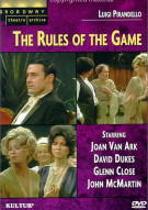 Broadway Theatre Archive: Rules Of The Game, The Movie