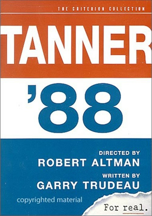 Tanner 88: The Criterion Collection Movie