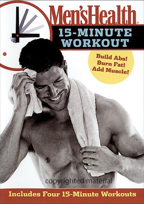 Mens Health 15 Minute Workout Movie