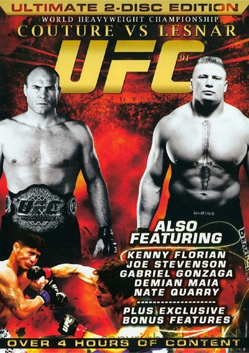 UFC 91: Couture Vs. Lesnar Movie
