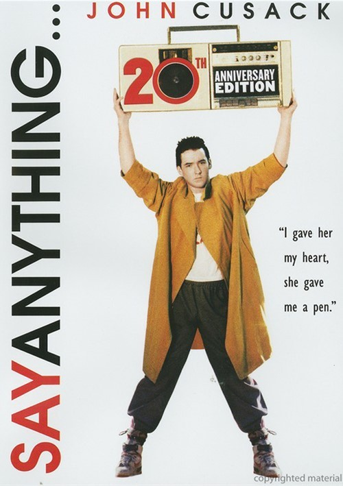 Say Anything: 20th Anniversary Edition Movie