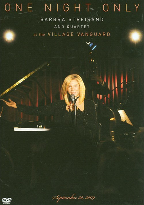 One Night Only: Barbra Streisand And Quartet At The Village Vanguard Movie