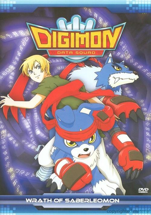 Digimon Data Squad: The Wrath of SaberLeomon Movie