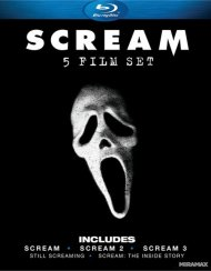 Scream: 5 Film Set Blu-ray