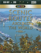 Scenic Routes Around The World: Europe (Blu-ray + DVD + Digital Copy) Blu-ray