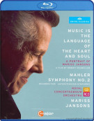 Mariss Jansons: Music Is The Language Of The Heart And Soul Blu-ray