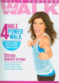 Leslie Sansone: Just Walk - 4 Mile Power Walk Movie