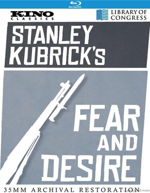 Fear & Desire Blu-ray