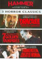 3 Film Hammer Horror Set Movie