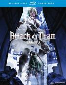Attack On Titan: Part 2 (Blu-ray + DVD) Blu-ray