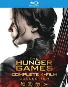 Hunger Games, The: The Complete 4-Film Collection (Blu-ray + UltraViolet) Blu-ray