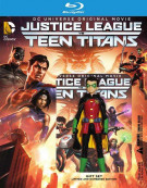 Justice League Vs Teen Titans - Deluxe Edition (Blu-ray + DVD + UltraViolet) Blu-ray