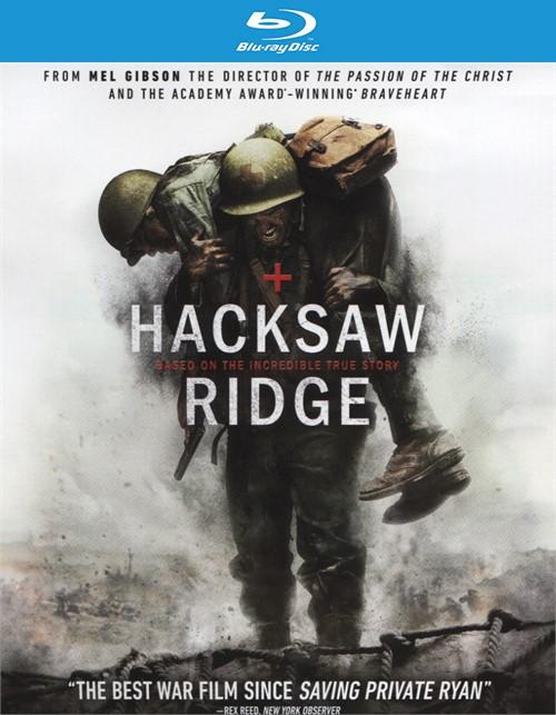Hacksaw Ridge (Blu-ray + DVD + UltraViolet) Blu-ray