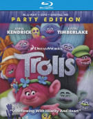 Trolls (Blu-ray + DVD + UltraViolet) Blu-ray