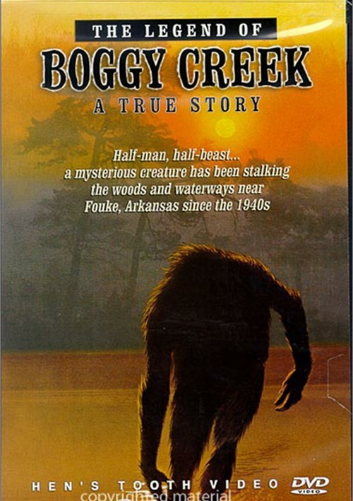 Legend of Boggy Creek, The (DVD 1972) | DVD Empire The Legend Is True Boggy Creek