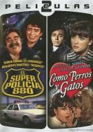 Dos Peliculas Mexicanas: El Super Policia 880 / Comos Perros Y Gatos Movie