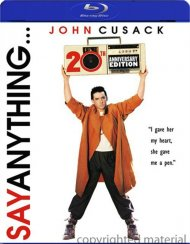 Say Anything: 20th Anniversary Edition Blu-ray