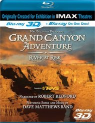 IMAX: Grand Canyon Adventure - River At Risk (Blu-ray 3D) Blu-ray