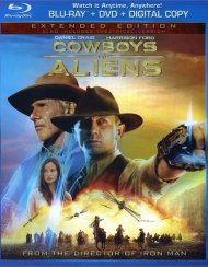 Cowboys & Aliens (Blu-ray + DVD + Digital Copy) Blu-ray