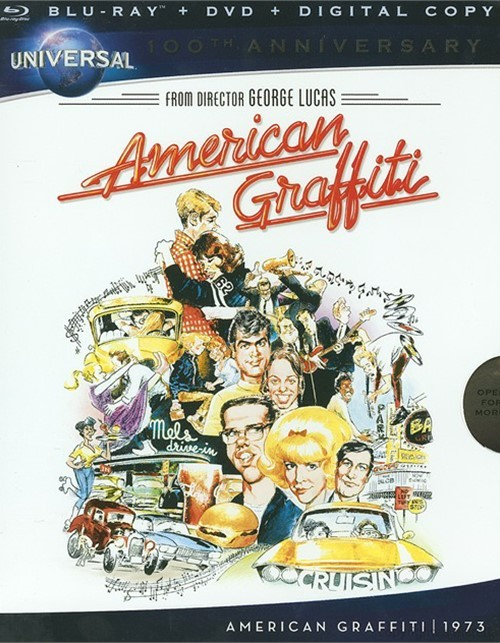 American Graffiti (Blu-ray + DVD+ Digital Copy) Blu-ray