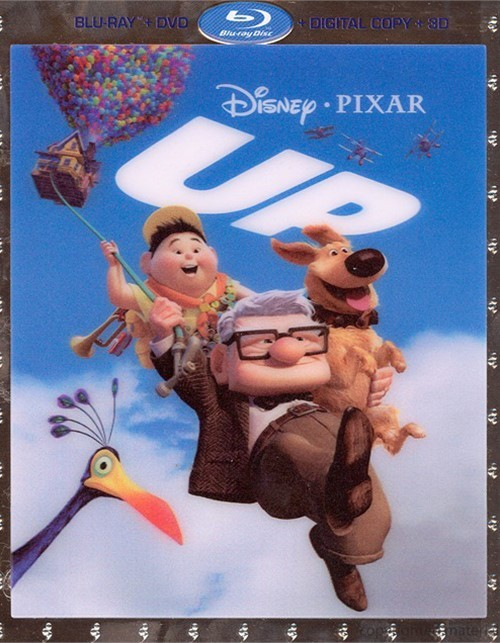 Up 3D (Blu-ray 3D + Blu-ray + DVD+ Digital Copy) Blu-ray
