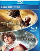 Clash Of The Titans: 1981 / Clash Of The Titans: 2010 (Double Feature) Blu-ray