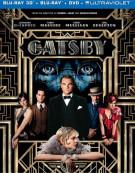 Great Gatsby 3D, The (Blu-ray 3D + Blu-ray + DVD + Ultraviolet) Blu-ray