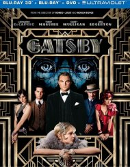 Great Gatsby 3D, The (Blu-ray 3D + Blu-ray + DVD + Ultraviolet) Blu-ray
