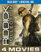 Riddick: The Complete Collection (Blu-ray + UltraViolet) Blu-ray