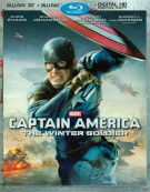 Captain America: The Winter Soldier (Blu-ray 3D + Blu-ray + Digital HD) Blu-ray