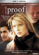 Proof (DVD + UltraViolet) Movie