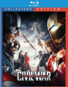 Captain America: Civil War (Bllu-ray 3D + Blu-ray + UltraViolet) Blu-ray