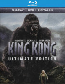 King Kong: Ultimate Edition (Blu-ray + DVD + UltraViolet) Blu-ray